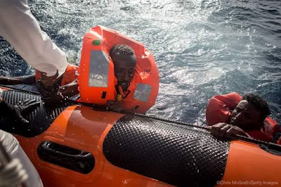 Photos: 31 African migrants including toddlers drown in the Mediterranean