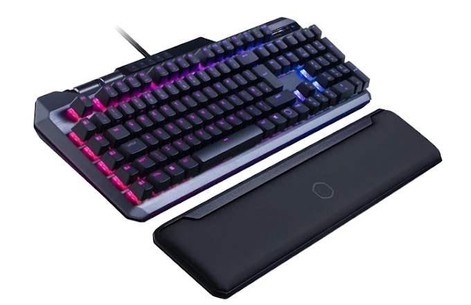 Cooler Grasp MK850 Gaming Keyboard With Strain-Delicate Analogue Keys Launched