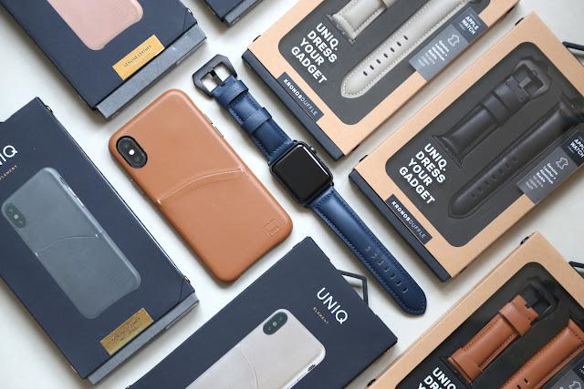 [生活] [穿搭] UNIQ Kronos Duffle Apple Watch 42mm 質感真皮手作縫線錶帶:輕鬆晉級風格品味