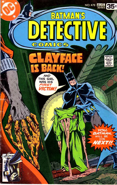 Detective Comics v1 #478 dc comic book cover art by Marshall Rogers