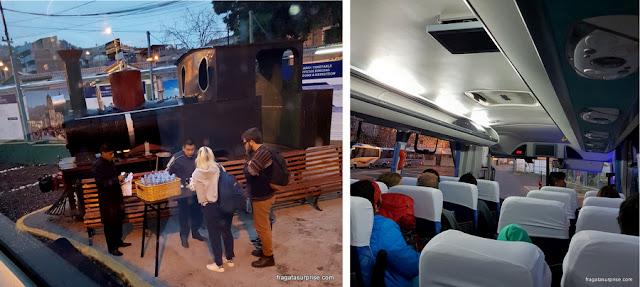 De Cusco a Machu Picchu - Estação de Wanchaq, partida do ônibus para Ollantaytambo