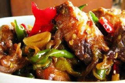 Ayam Kecap Cabe Ijo