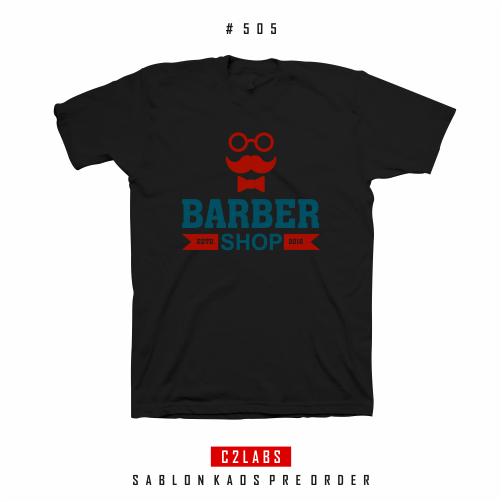 Barber Shop - Desain Kaos Barber Shop #506