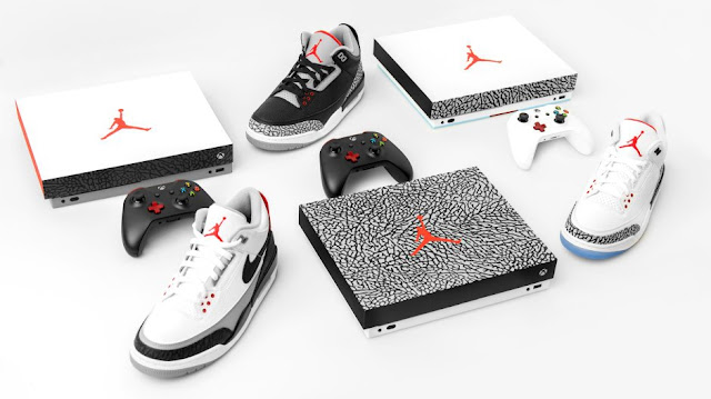 chance-to-win-limited-edition-air-Jordan-IIIXbox-One-X-console
