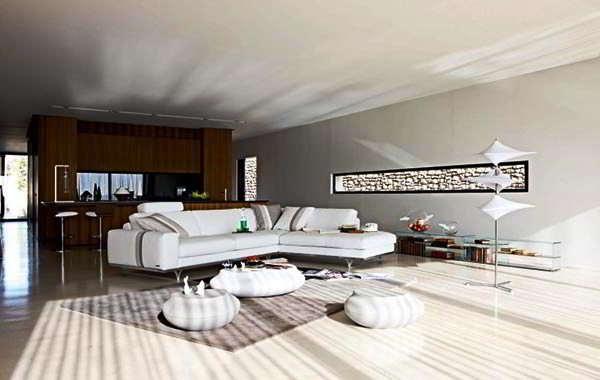 Sofa Ruang Tamu Warna Putih