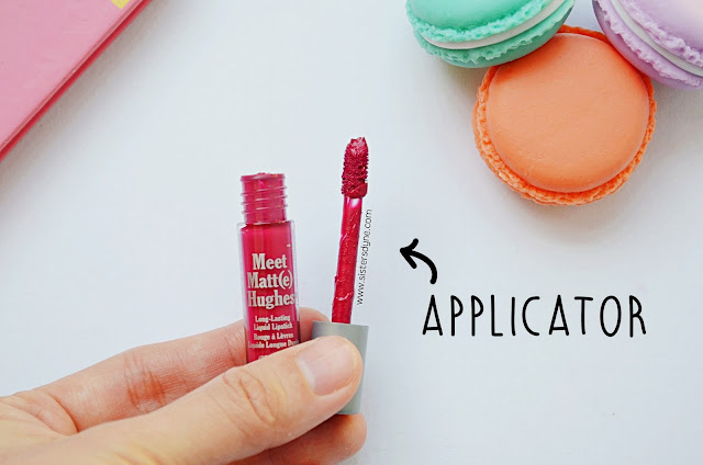 the balm meet matte hughes applicator