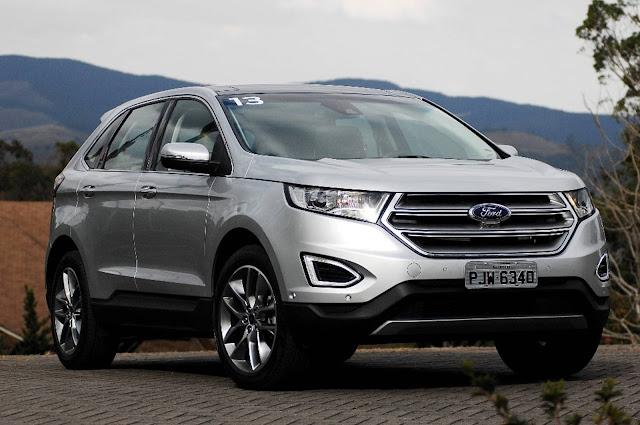 Novo Ford Edge 2017 - Prata Dublin
