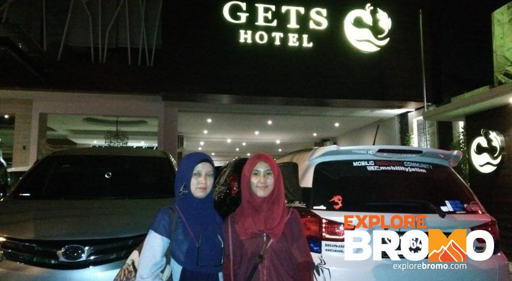 penjemputan hotel gets malang wisata gunung bromo midnight