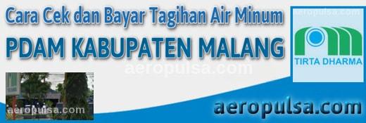 Cara cek dan bayar tagihan rekening PDAM Kabupaten Malang