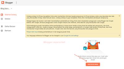 Cara Membuat Blog di Blogger Terbaru Gratis 4