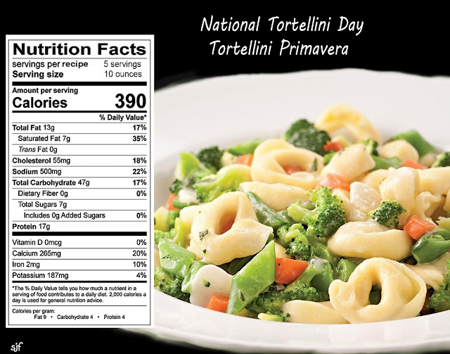 ... Online Blog: National Tortellini Day - Tortellini Primavera Recipe
