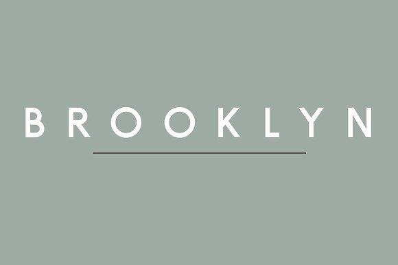 Brooklyn Font