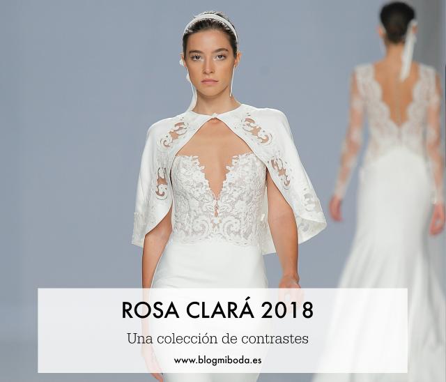 rosa clara colección 2018 - blog mi boda