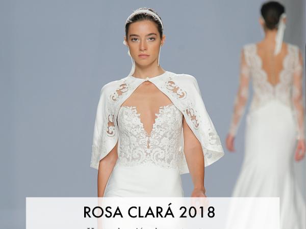 Rosa Clara 2018 - una colección de contrastes