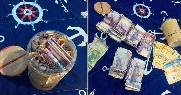 Guy saves Php16k just 4 months after breaking up with GF