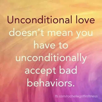My Daily Reflection: re-evaluating the nature of unconditional love