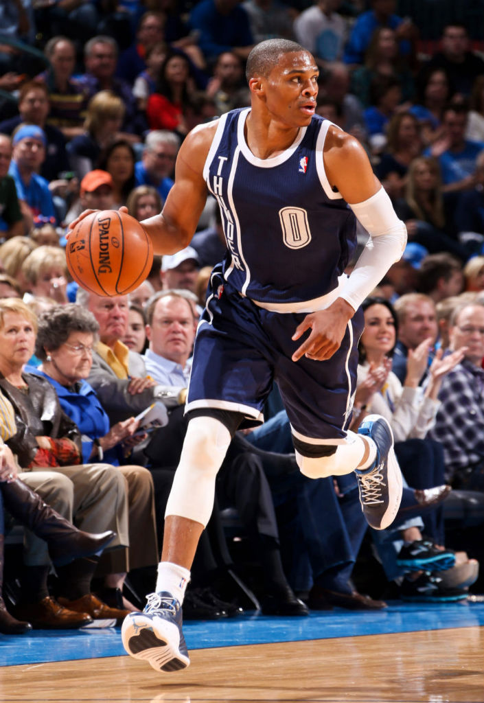 beadb12210a5 Last Seen at American Airlines Arena... Suspect wearing Thunder Alternate  Uniform (Navy Blue) w KD V to Match