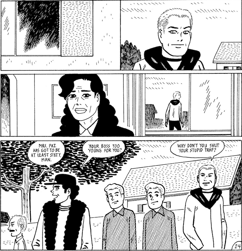 Loverboys, by Gilbert Hernandez.