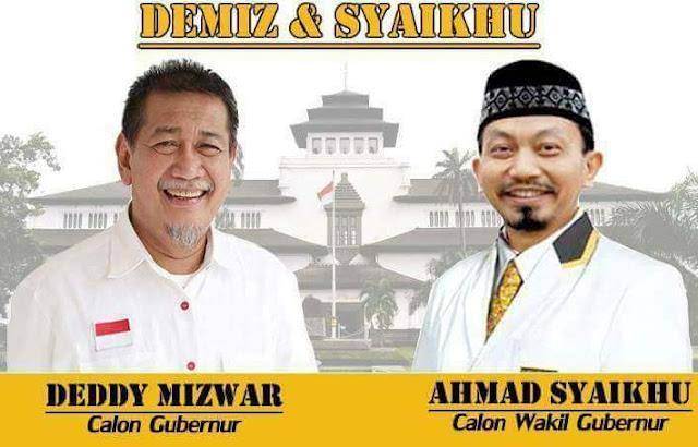 [Pilgub Jabar 2018] PKS Tetap Dukung Demiz-Syaikhu