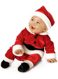 Velvet Santa Suit Baby Child Costume