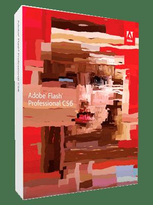 Adobe Flash Professional CS6 box