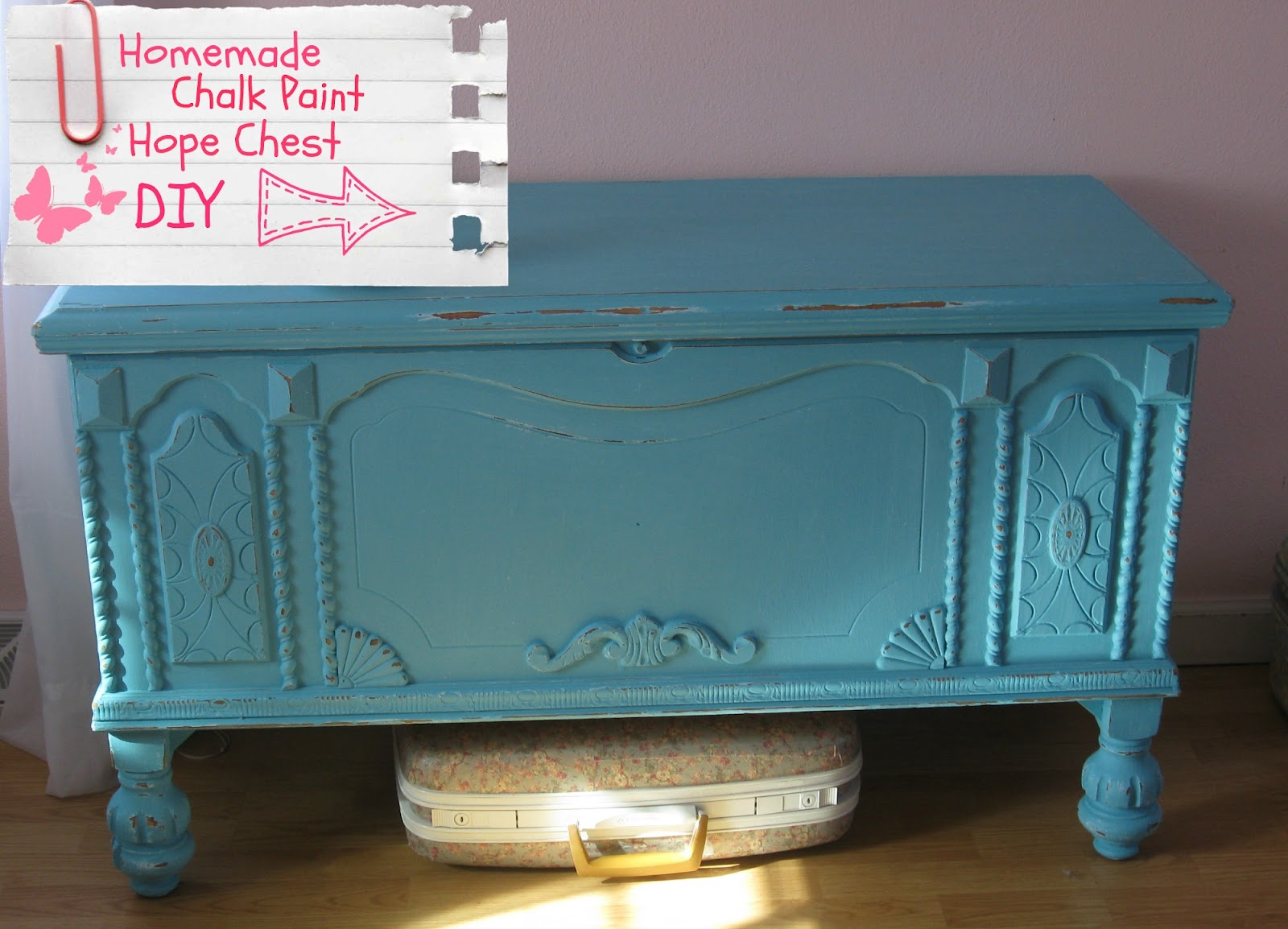 Hope Chest Makeover Diy