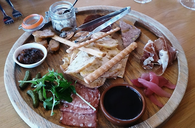 Greenpoint Brasserie, Domaine Chandon, Winery, Coldstream, Yarra Valley, charcuterie platter