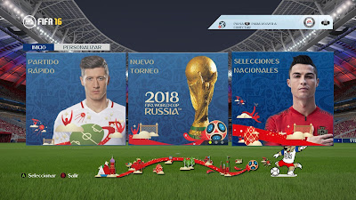 FIFA 16 ModdingWay Mod World Cup 2018 Edition