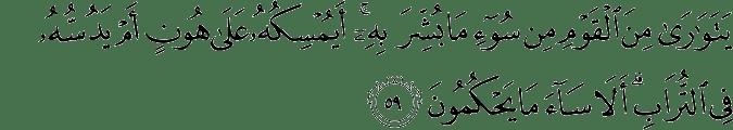 Surat An Nahl Ayat 59