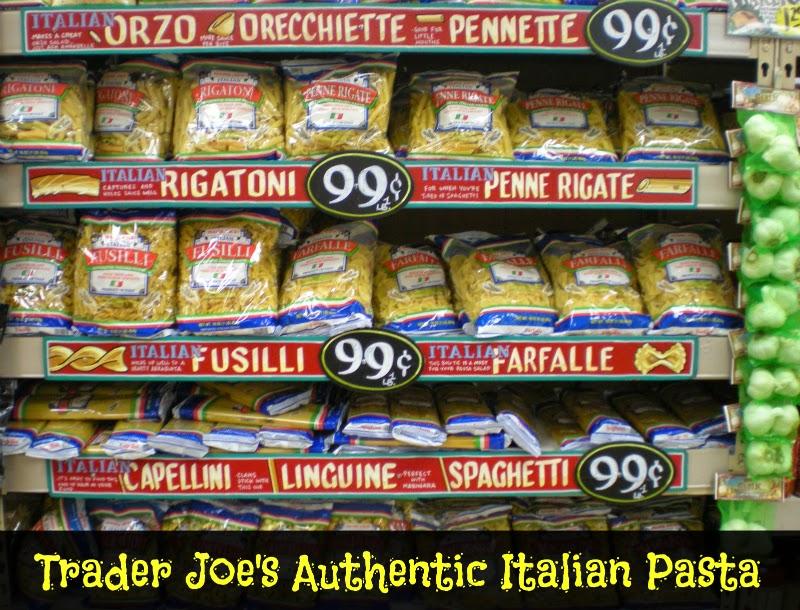 Trader Joe's Italian Pasta