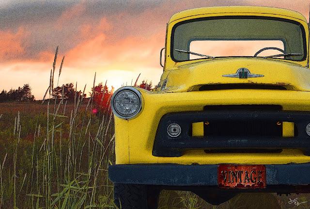 Vintage Truck Art
