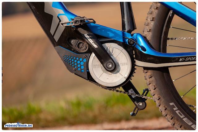 Schon seit Jahren verbaut M1 Sporttechnik den leistungsstarken TQ e-Bike Antrieb, so auch im Spitzing Evolution 2019.