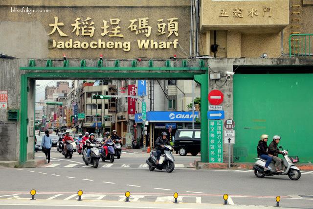 Dadaocheng Wharf Taipei Taiwan