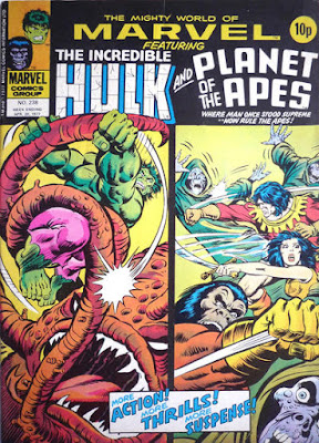 Mighty World of Marvel #238, Hulk, Planet of the Apes