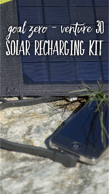 Gear of the Week #GOTW KW 33 | Goal Zero - Venture 30 Solar Recharging Kit | Venture-30-Test | Solarladegerät für unterwegs.