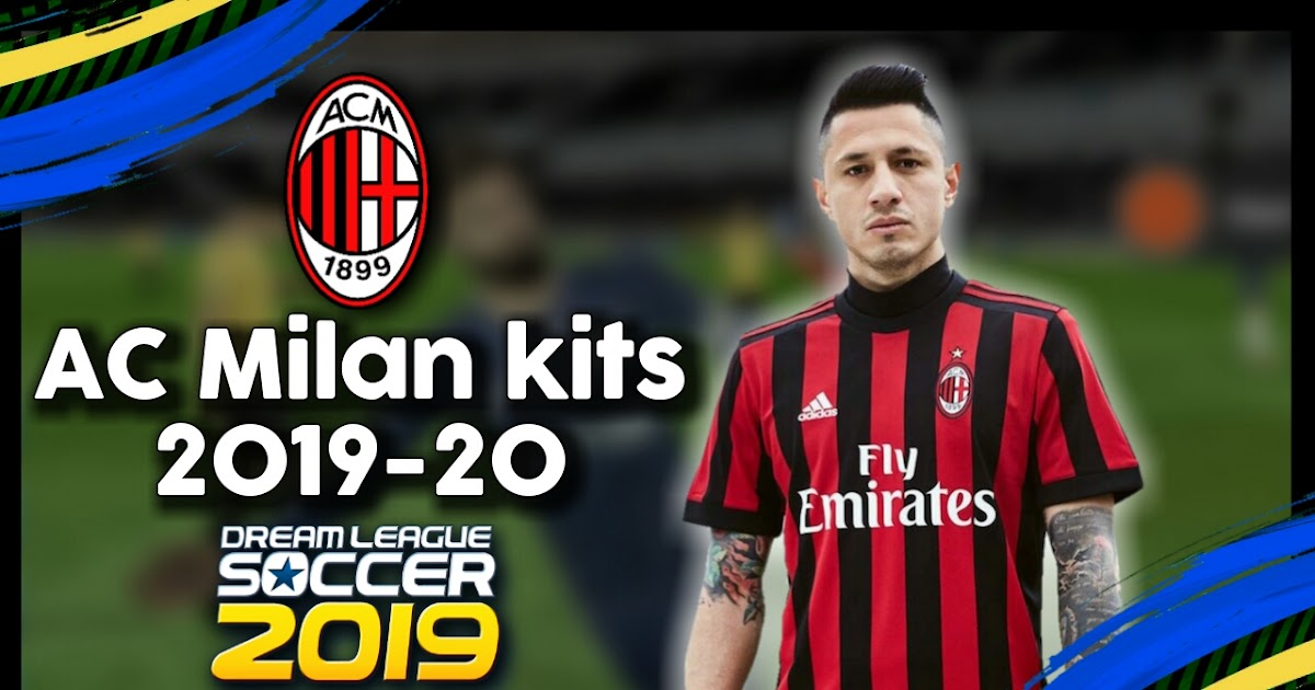 AC Milan Kit 2019-20 Dream League Soccer