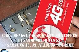Cara Menggunakan Kartu Smartfren di HP SAMSUNG GALAXY S8