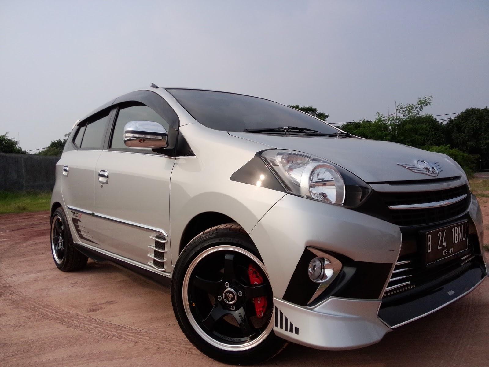 New Agya Trd Manual Toyota Yaris Sportivo 2014 Gambar Modifikasi Mobil Tebaru Warna Putih Biru