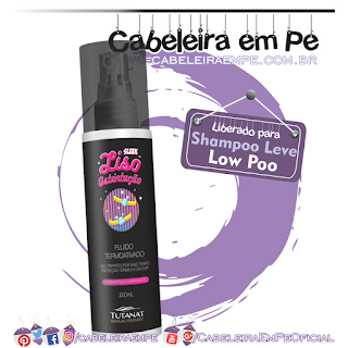 Fluído Termoativado Sleek Liso Ostentação - Tutanat (Low Poo)