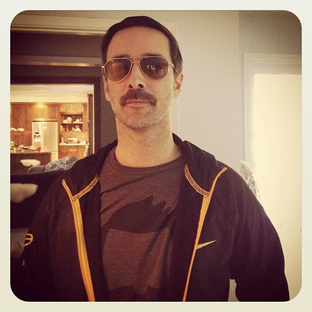 huge mustache