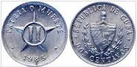2 cents - Cuba - 1985