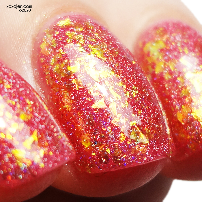 xoxoJen's swatch of KBShimmer Anything Is Popsicle