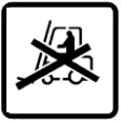 Do not use forklift here