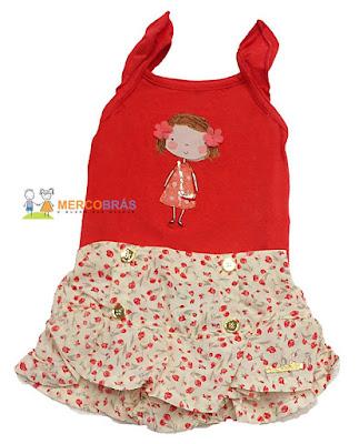 roupas de criança no atacado