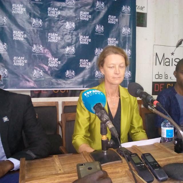 madame SEM Catherine Inglehoun ambassadrice du Royaume-Uni en Guinée