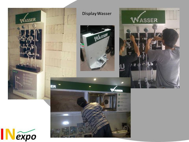 DISPLAY WASSER kontraktor pameran booth