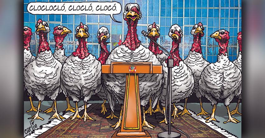 Carlincaturas Sábado 16 Diciembre 2017 - La República