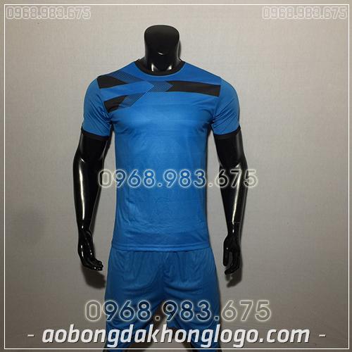 Áo Bóng Đá Ko Logo F50 Adi màu xanh nhạt