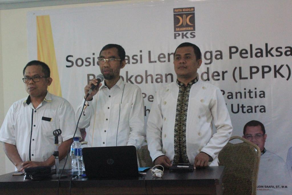 Pelantikan Panitia Daerah LPPK se-Sulawesi Utara
