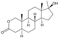formula estrutura quimica oxandrolona